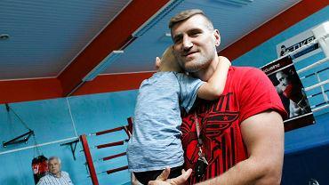 Mariusz Wach całkiem niedawno przeprowadził w Opolu pokazowy trening z  OKB