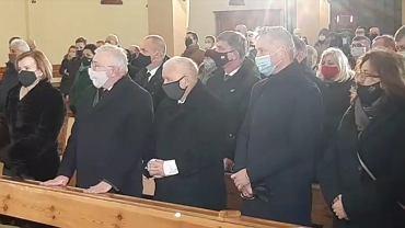 Msza w Starachowicach z udziałem prezesa PiS Jarosława Kaczyńskiego