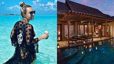 Blanka Lipińska wypoczywa na Malediwach. Za jedną noc na prywatnej wyspie płaci fortunę. Znamy cenę!