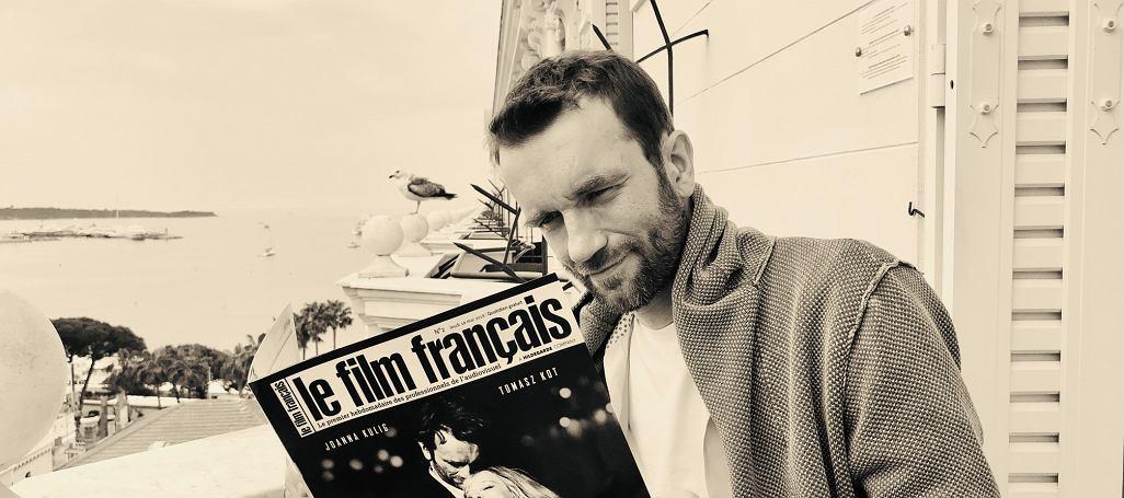 Tomasz Kot na festiwalu w Cannes / Fot. Anna Kot