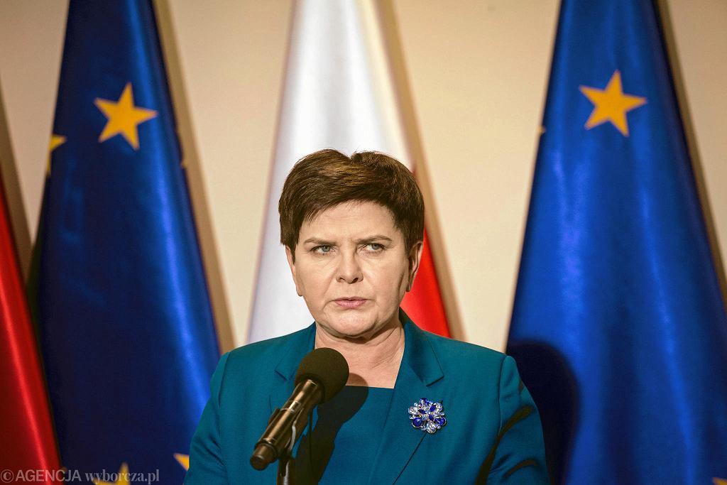 Wicepremier Beata Szydło.