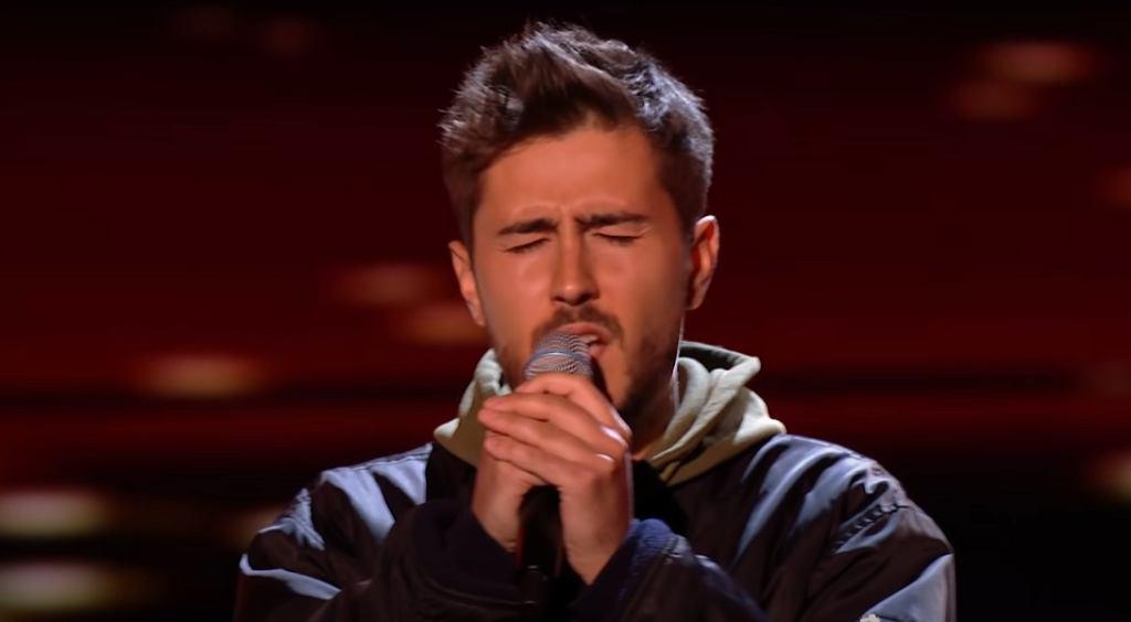 James Robb w The Voice UK 2021