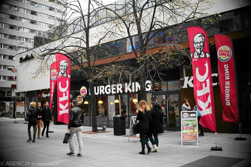 Bar KFC w Warszawie