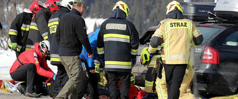 Wypadek w Bukowinie Tatrzańskiej. Sprawą zajmą się prokuratorzy z Krakowa