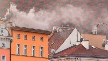 Smog we Wrocławiu, 29.01.2021.