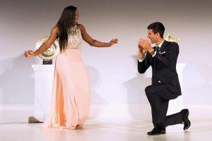 Wimbledon 2015. Serena Williams i Novak Djoković w mistrzowskim tańcu [WIDEO]