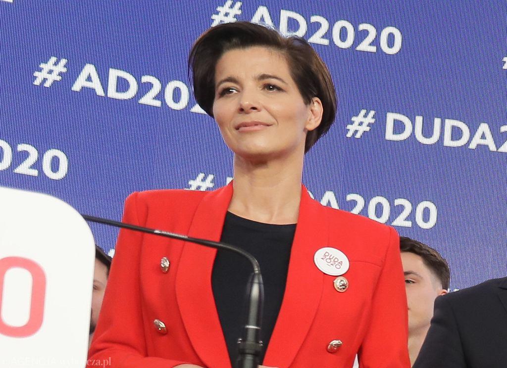 Wybory prezydenckie 2020. Jolanta Turczynowicz-Kieryłło, szefowa kampanii Andrzeja Dudy