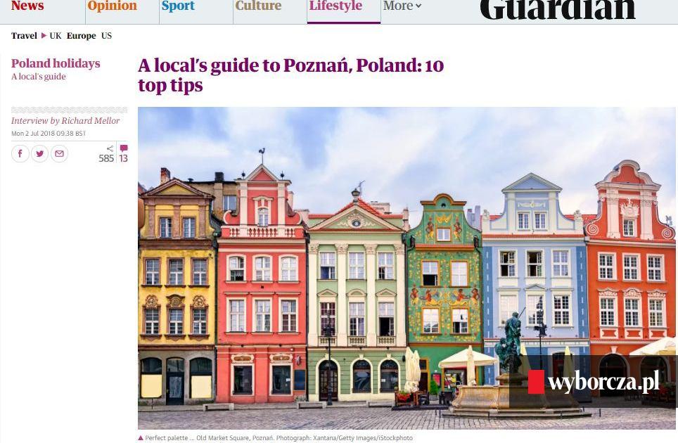 The Guardian Poleca 10 Miejsc W Poznaniu Klub Dragon Ul