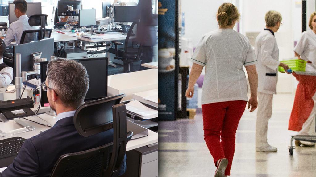 Pan Wiktor pisze: Pracuję w korporacji, moja żona jest lekarką. Kto ma lepiej?