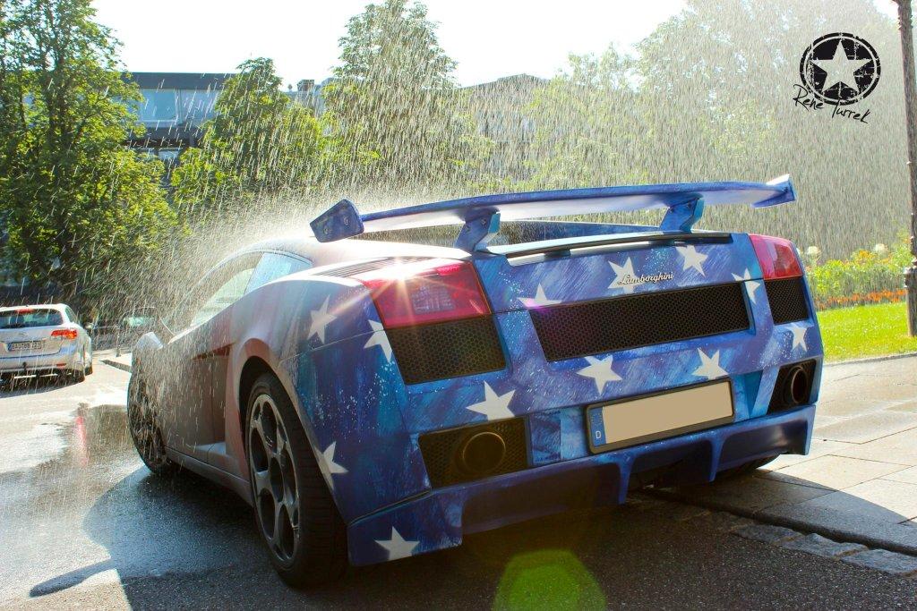 Lamborghini Gallardo zmieniające kolory