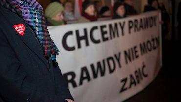69. miesięcznica smoleńska w Krakowie