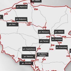 """Gdzie można się spodziewać policji z """"suszarką""""? Najczęściej kontrolowane drogi w Polsce [MAPA]"""