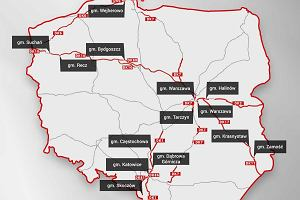 """Najczęściej kontrolowane drogi w Polsce 2019. W tych miejscach policja """"suszy"""" najczęściej [MAPA]"""