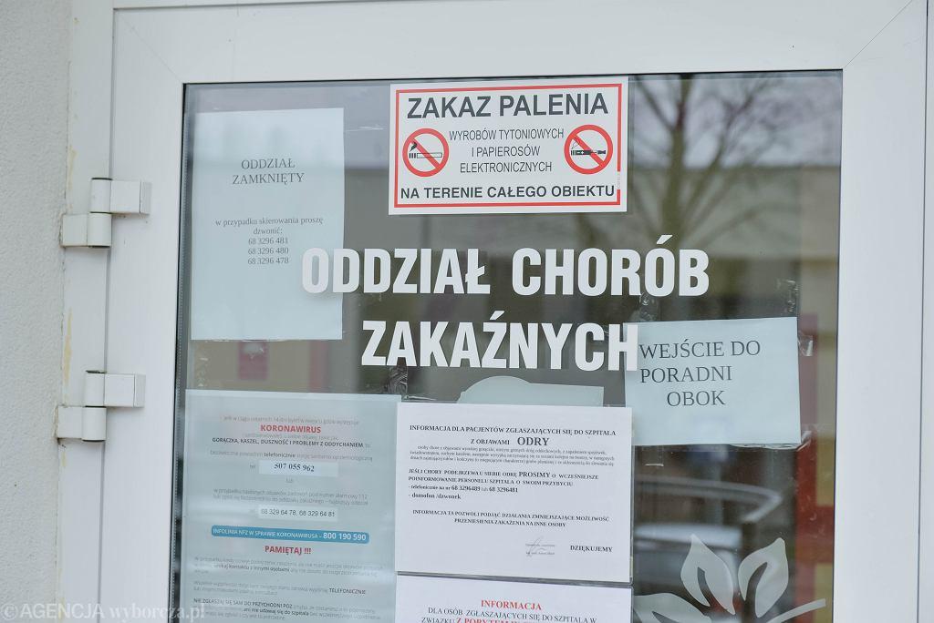 Koronawirus w Polsce. Pierwszy przypadek w Zielonej Górze