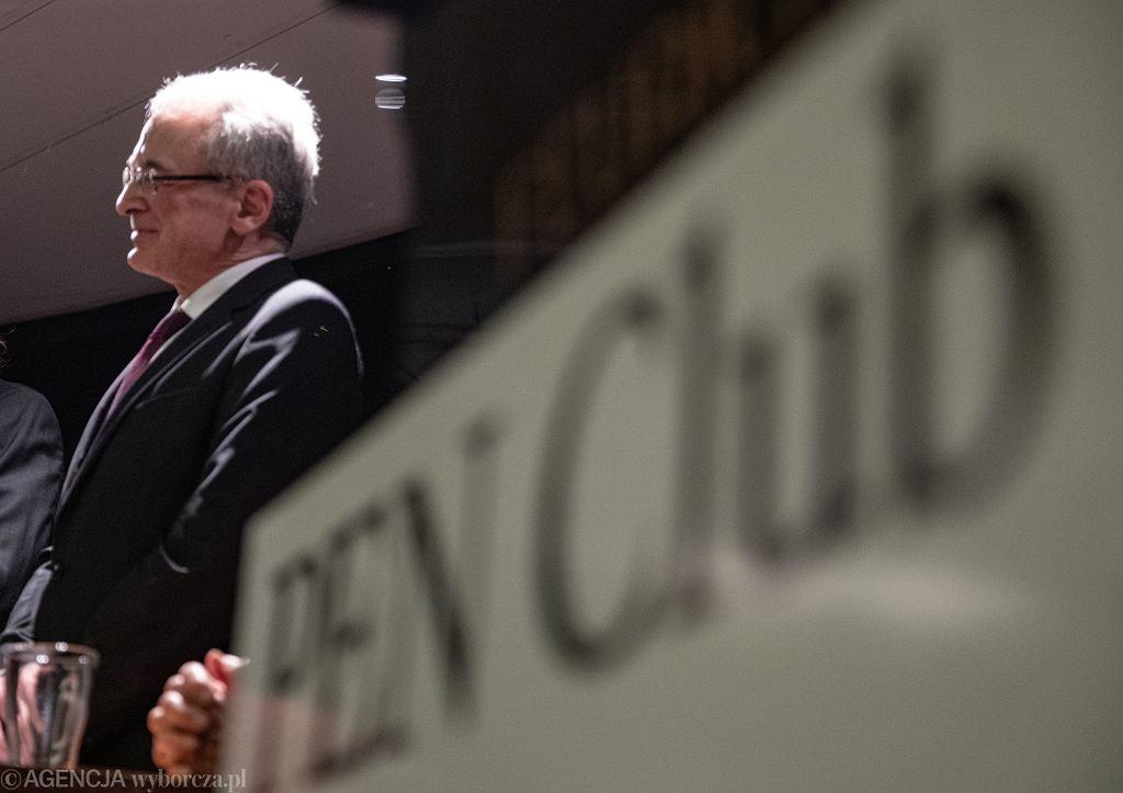 Adam Pomorski, prezes polskiego PEN Clubu