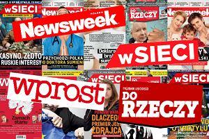 Gazeta Polska, Do Rzeczy, Sieci z rekordowym spadkiem sprzedaży - nawet 30 proc. w dół