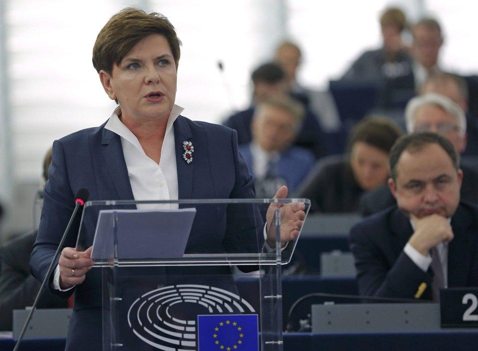 Beata Szydło w PE