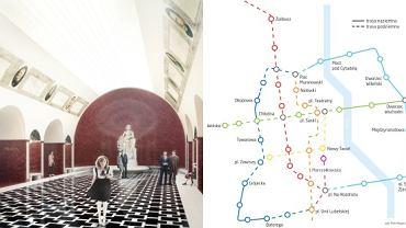Niezrealizowane projekty metra