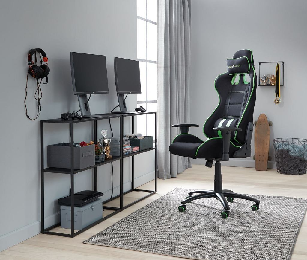 Komfortowy fotel gamingowy