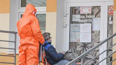 Koronawirus. Zakażenia w zielonogórskim szpitalu. Dodatni wynik u ponad 30 osób