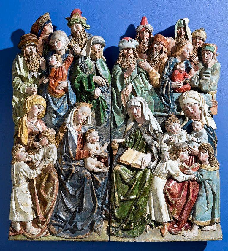 Wielka Rodzina Marii Panny ze zbiorów Muzeum Śląska Cieszyńskiego w Cieszynie