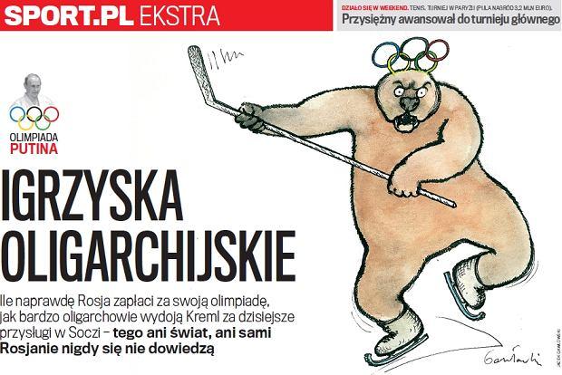Sport.pl Ekstra. Igrzyska oligarchijskie