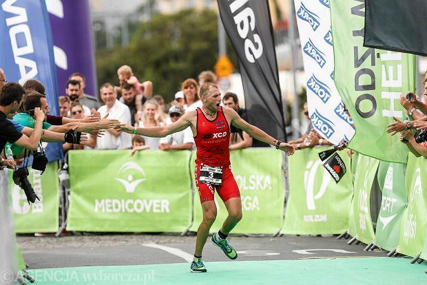 09.08.2015 Gdynia . Triathlon Herbalife Ironman 2015 fot. Lukasz Glowala / Agencja Gazeta
