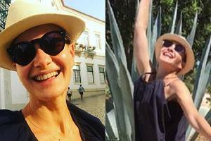 Małgorzata Kożuchowska na wakacjach