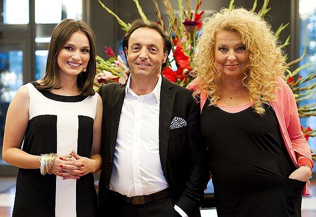 "Jury programu ""MasterChef"" w składzie Magda Gessler, Anna Starmach i Michel Moran"