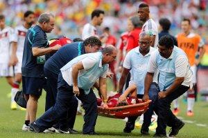 Niemcy - Portugalia 4:0. Fabio Coentrao i Hugo Almeida poważnie kontuzjowani