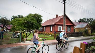 Wieś na Podlasiu.