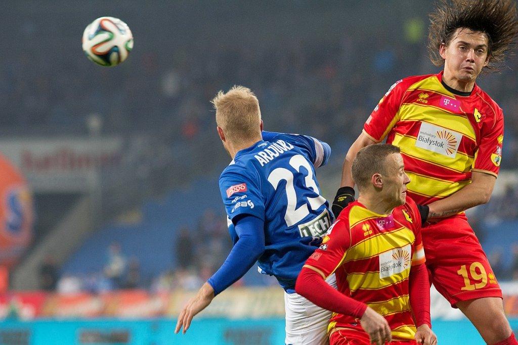 Lech Poznań - Jagiellonia Białystok 2:0