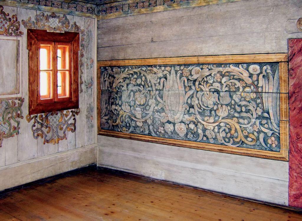 Polichromie z Muzeum Papiernictwa w Dusznikach Zdroju