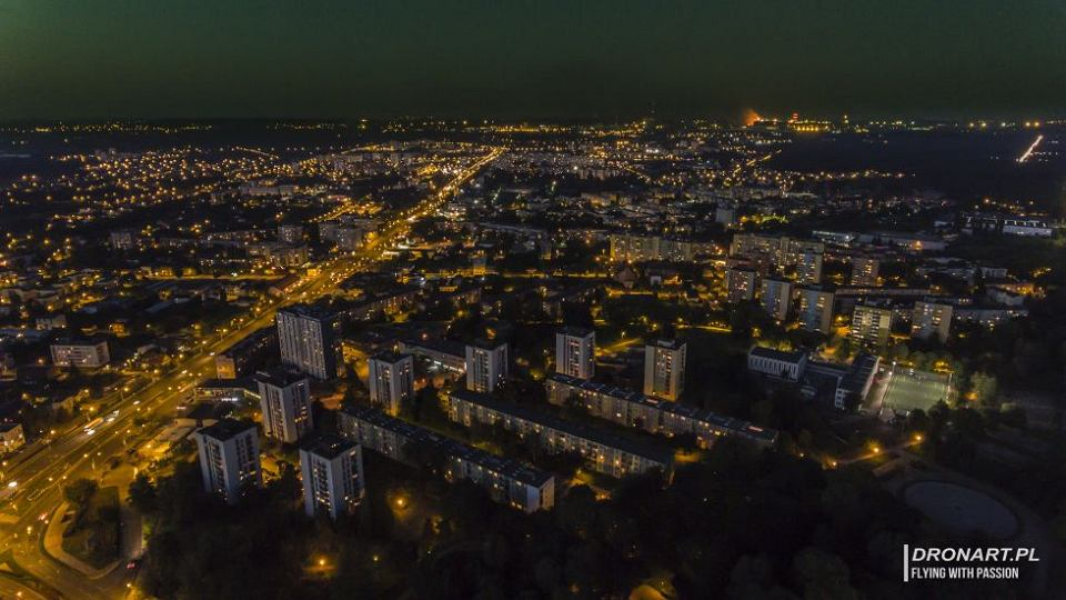 Rozpoczyna Się Modernizacja Ulicznego Oświetlenia W Dąbrowie