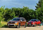 Opinie Moto.pl: Renault Captur 1.5 dCi vs. Dacia Duster 1.5 dCi - europejskie bestsellery