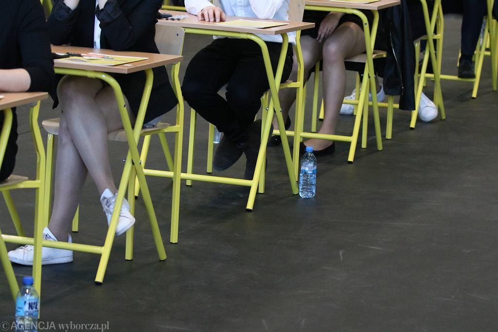 Matura - uczniowie nie muszą mieć maseczek
