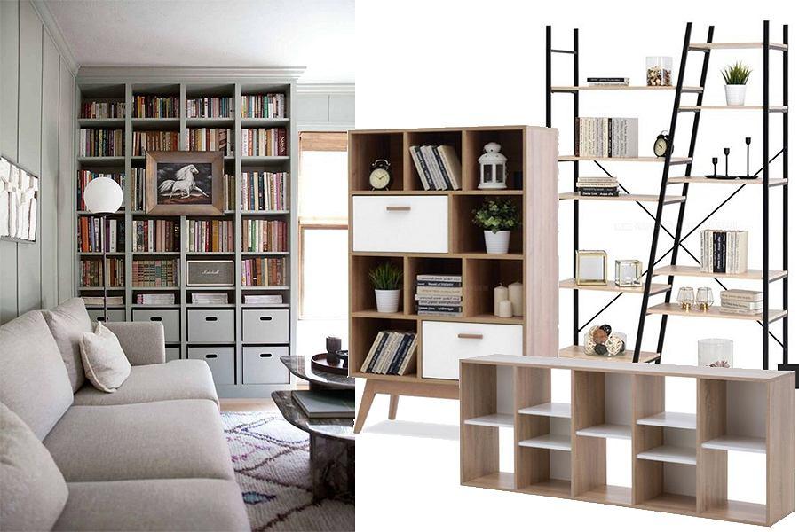 Regały i półki na książki