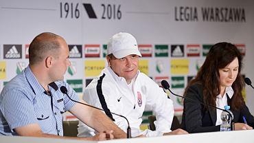 Trener Zorii na konferencji przed meczem z Legią