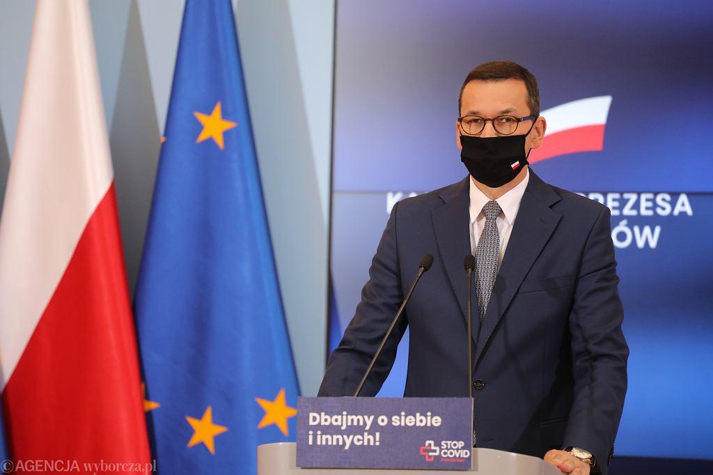 Mateusz Morawiecki. Zdjęcie ilustracyjne