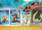 """Vaiana: Skarb oceanu"" na Blu-ray 3D, Blu-ray i DVD"