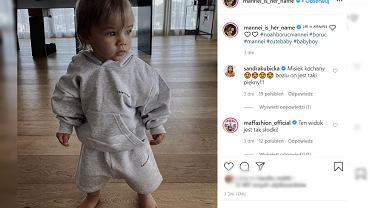 Sara Boruc pokazała synka w dresie za ok. 2 tys.