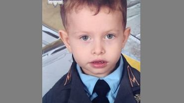 Policjanci poszukują zaginionego 4-letniego Marka Rybaka