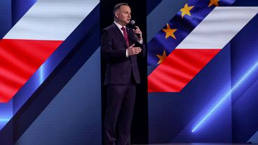 Prezydent Andrzej Duda na konferencji poświęconej CPK