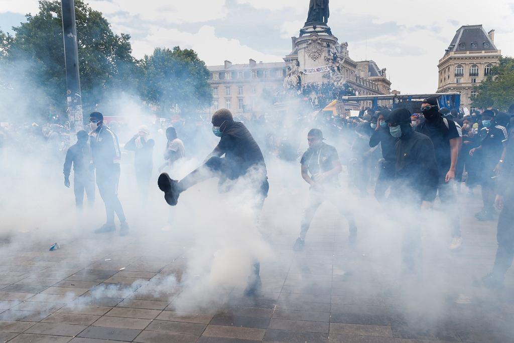 Protesty w Paryżu. Doszło do starć z policją