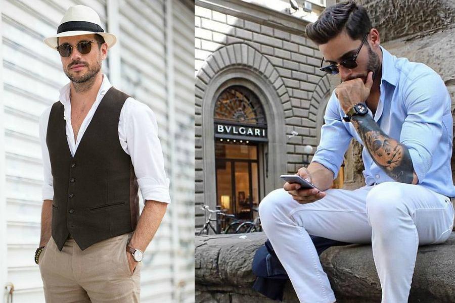Moda dla taty i syna | Moda, Bluzy męskie i Trendy