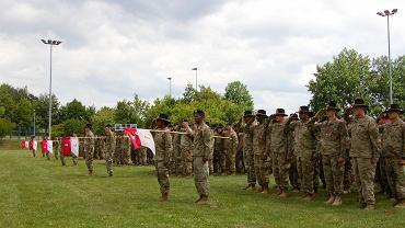 Żołnierze 2. Brygady US Army w Vilseck