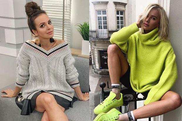 swetry damskie/mat. partnera