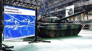 Modernizacja T-72 potrwa 6 lat i będzie kosztować 1,75 mld zł