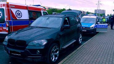 Łódzkie. Policja szybko namierzyła podejrzewanego (zdjęcie z akcji policji)