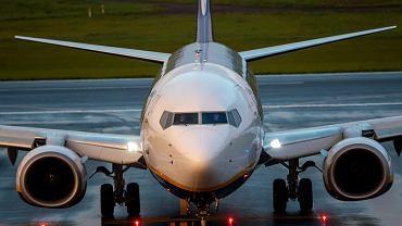 Samolot Ryanair, który w niedzielę zmuszono do lądowania w Mińsku